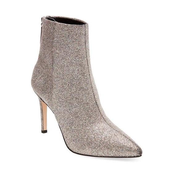 Steve Madden Glitter Heeled Carey Boots